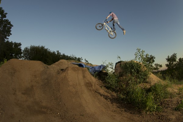 Jared Ball, no foot can-can, Ball family trails.