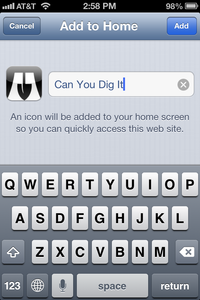 Can You Dig It Button 2
