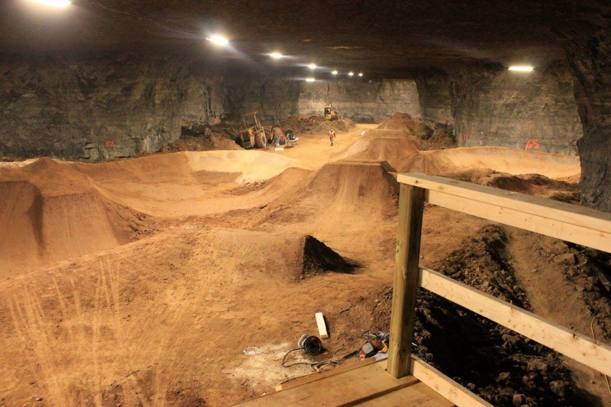 Dirt Bikes In Louisville Ky Mega Underground Bike Park Now